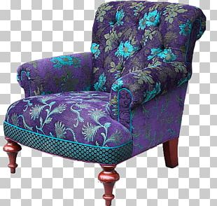 Wing Chair Upholstery Furniture Club Chair PNG