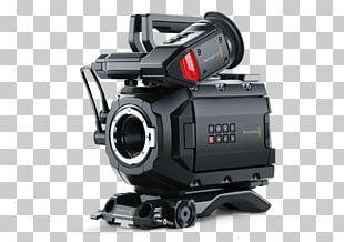 Blackmagic URSA Mini 4.6K Canon EF Lens Mount Blackmagic URSA Mini 4K Blackmagic Design PNG