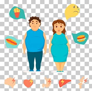 Obesity Fat Overweight Man PNG
