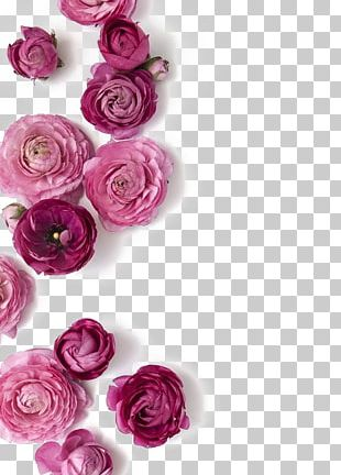 Pink Flowers Wedding Flower Bouquet PNG