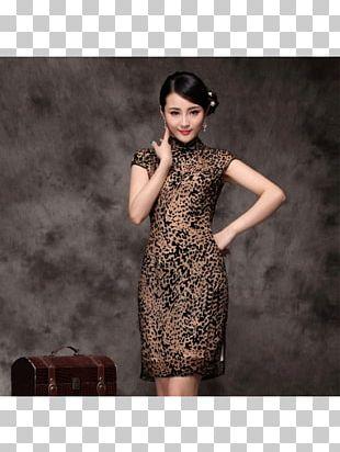 Little Black Dress Cheongsam Chinese Clothing PNG