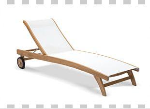 Deckchair Furniture Wing Chair Teak Table PNG