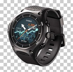 Smartwatch Casio Pro Trek Wear OS PNG