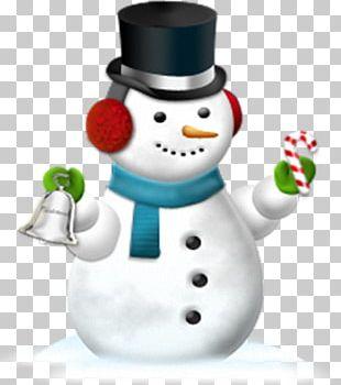 Snowman Christmas Decoration Santa Claus Holiday PNG