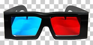 3d Cinema Glasses PNG