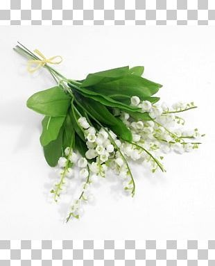 Flower Bouquet Lily Of The Valley Artificial Flower Silk PNG