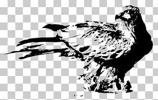 U6c34u58a8u753bu9e70 Bird Ink Wash Painting PNG