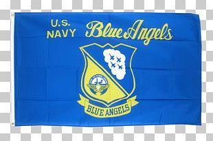 United States Navy Blue Angels Flag PNG