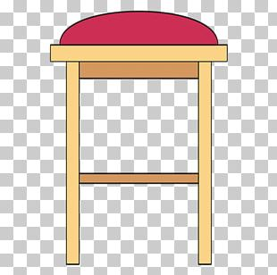 Bar Stool Table Chair Seat PNG