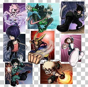 Fiction My Hero Academia Character Fan Art Manga PNG