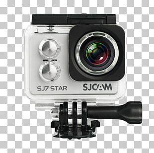 SJCAM SJ7 STAR Action Camera SJCAM SJ4000 4K Resolution PNG