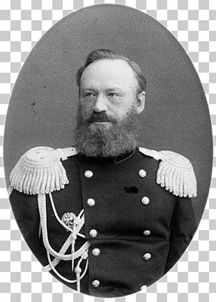 Beard Moustache Army Officer White Military PNG