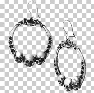 Earring Jewellery Bracelet Alchemy Gothic Silver PNG