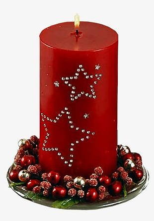 Christmas Candles PNG