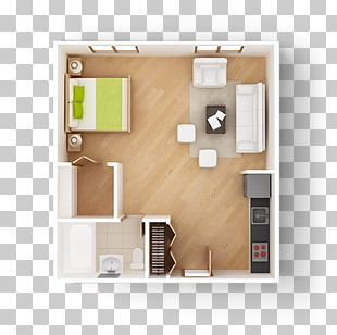 Studio Apartment Floor Plan House Plan PNG