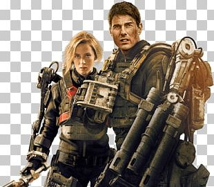 Tom Cruise Edge Of Tomorrow Rita Vrataski Film Cinema PNG
