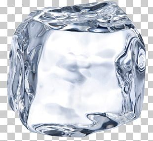 Ice Cube Iced Coffee PNG