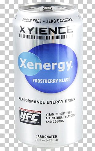 AMP Energy Drink Xyience Red Bull Beverage Can PNG