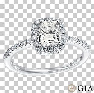 Engagement Ring Diamond Cut Princess Cut Wedding Ring PNG