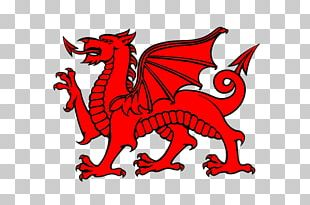 Flag Of Wales Welsh Dragon PNG
