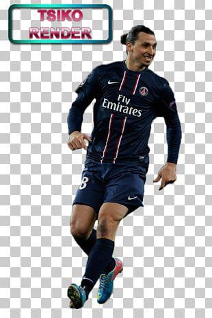 Zlatan Ibrahimović Football Player Rendering PNG