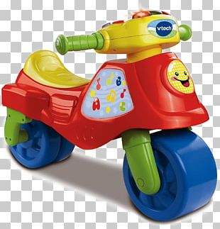 VTech 2-in-1 Learn & Zoom Motorbike Toy Bicycle Education PNG