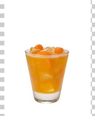 Orange Drink Cocktail Monin PNG