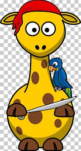 Giraffe Towel Piracy PNG