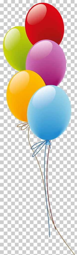 Toy Balloon Birthday Email PNG