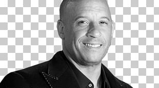 Vin Diesel Dominic Toretto Fast & Furious The Fast And The Furious Black And White PNG