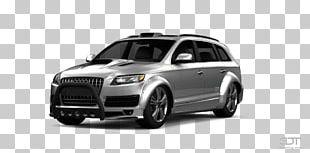 Audi Q7 Car Luxury Vehicle Automotive Lighting Motor Vehicle PNG
