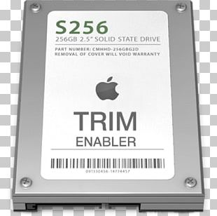 MacBook Pro Trim Solid-state Drive MacOS PNG