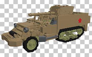 Churchill Tank Armored Car Gun Turret Self-propelled Artillery PNG