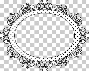 Circle White Point Line Art Body Jewellery PNG