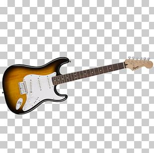 Electric Guitar Fender Stratocaster Fender Musical Instruments Corporation Squier PNG
