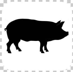 Granny Pig Rib Crib Decal Butcher PNG