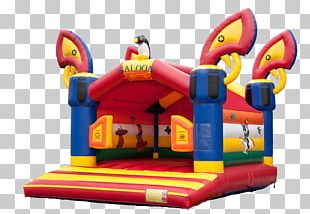 Inflatable Bouncers Castle Child Party PNG