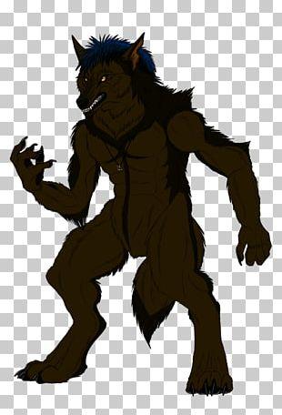 Werewolf Gray Wolf Furry Fandom PNG