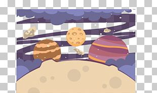 Cartoon Universe Outer Space Illustration PNG