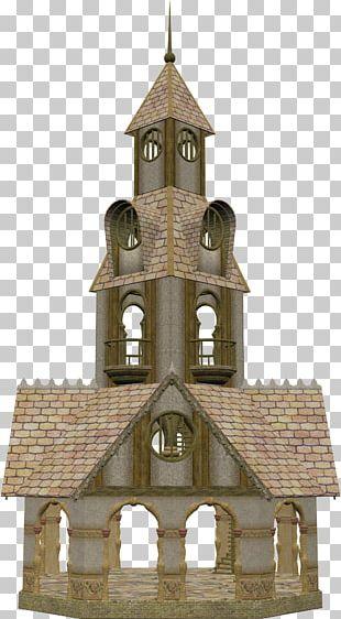 Castle Building PNG