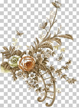 Flower Vintage Clothing PNG