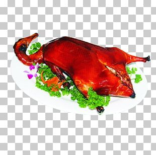 Peking Duck Roast Goose Roast Chicken Asado PNG
