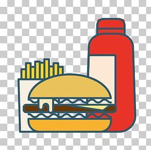 Hamburger French Fries Hot Dog Fast Food Pizza PNG