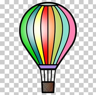 Hot Air Ballooning Airplane PNG