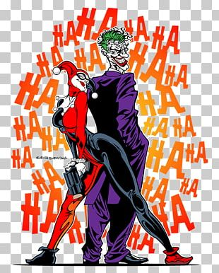 Harley Quinn Joker Batman Robin Comics PNG
