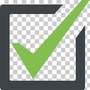 Checkbox Emoji Check Mark Symbol PNG