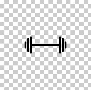 Dumbbell Barbell Physical Exercise Icon PNG