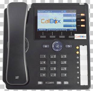 Business Telephone System Mobile Phones Voice Over IP Telephony PNG