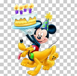 Mickey Mouse Minnie Mouse Pluto Birthday The Walt Disney Company PNG