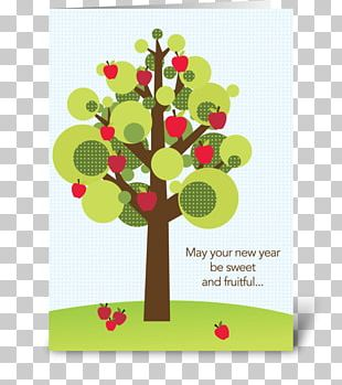 The Jewish New Year Rosh Hashanah Greeting & Note Cards Happiness PNG